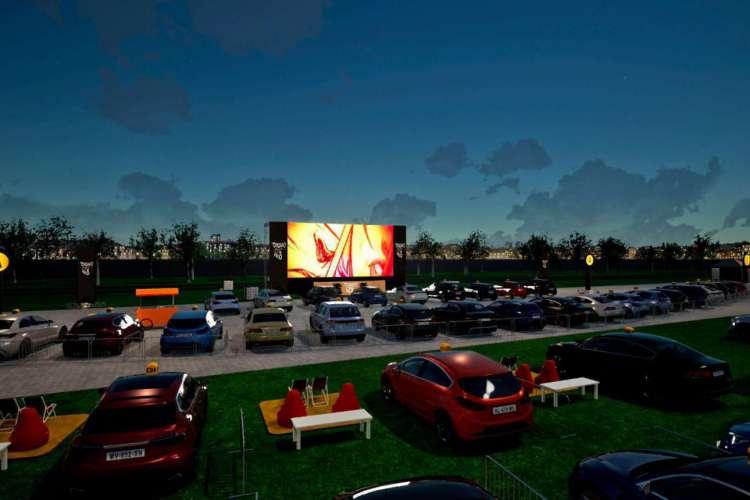 O projeto Colosso Open Vibes ofertará filmes para o público adulto e infantil (Foto: Divulgação)