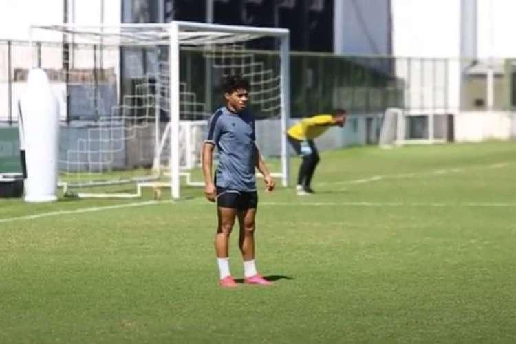 Jacaré diz já estar adaptado ao Ceará  (Foto: Reprodução/YouTube/Vozão TV )