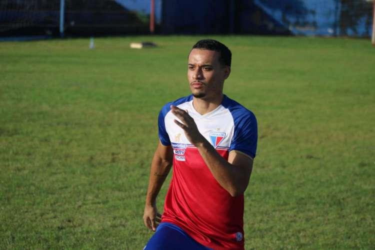 Luiz Henrique vive expectativa de atuar pelo Fortaleza na retomada dos jogos (Foto: Bruno Oliveira / Fortaleza EC)