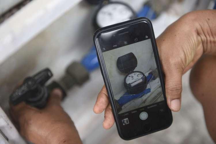 Imagens podem ser feitas por clientes por meio do aplicativo da companhia  (Foto: Divulgação)