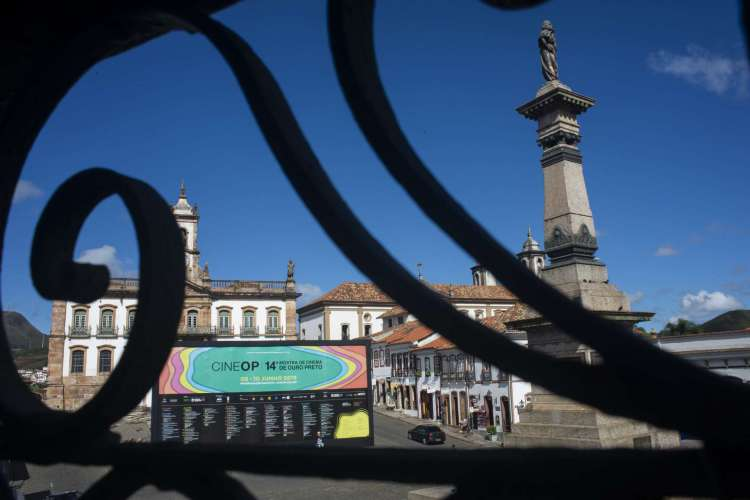Cine OP - Mostra de Cinema de Ouro Preto comemora 15 anos em 2020 com edição virtual (Foto: Jackson Romanelli)