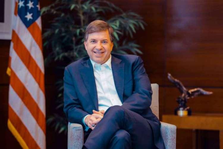 Todd C. Chapman , o embaixador dos Estados Unidos no Brasil (Foto: DIVULGAÇÃO)