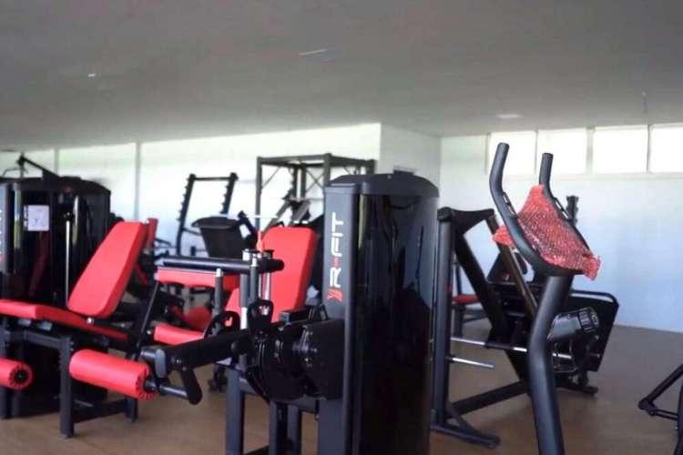 Fortaleza divulgou algumas imagens do equipamento no fim do mês passado  (Foto: Reprodução/Twitter)