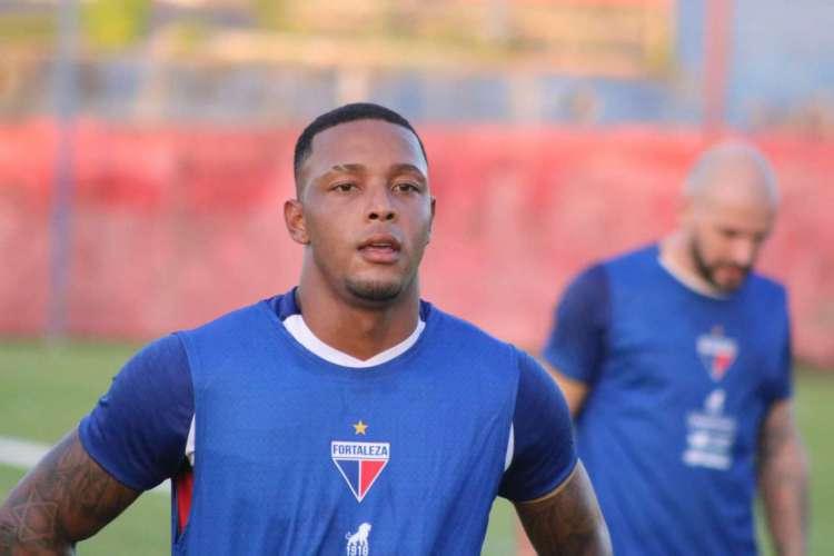 David tem expectativa de permanecer no time titular do Fortaleza no retorno dos jogos  (Foto: Bruno Oliveira / Fortaleza EC)
