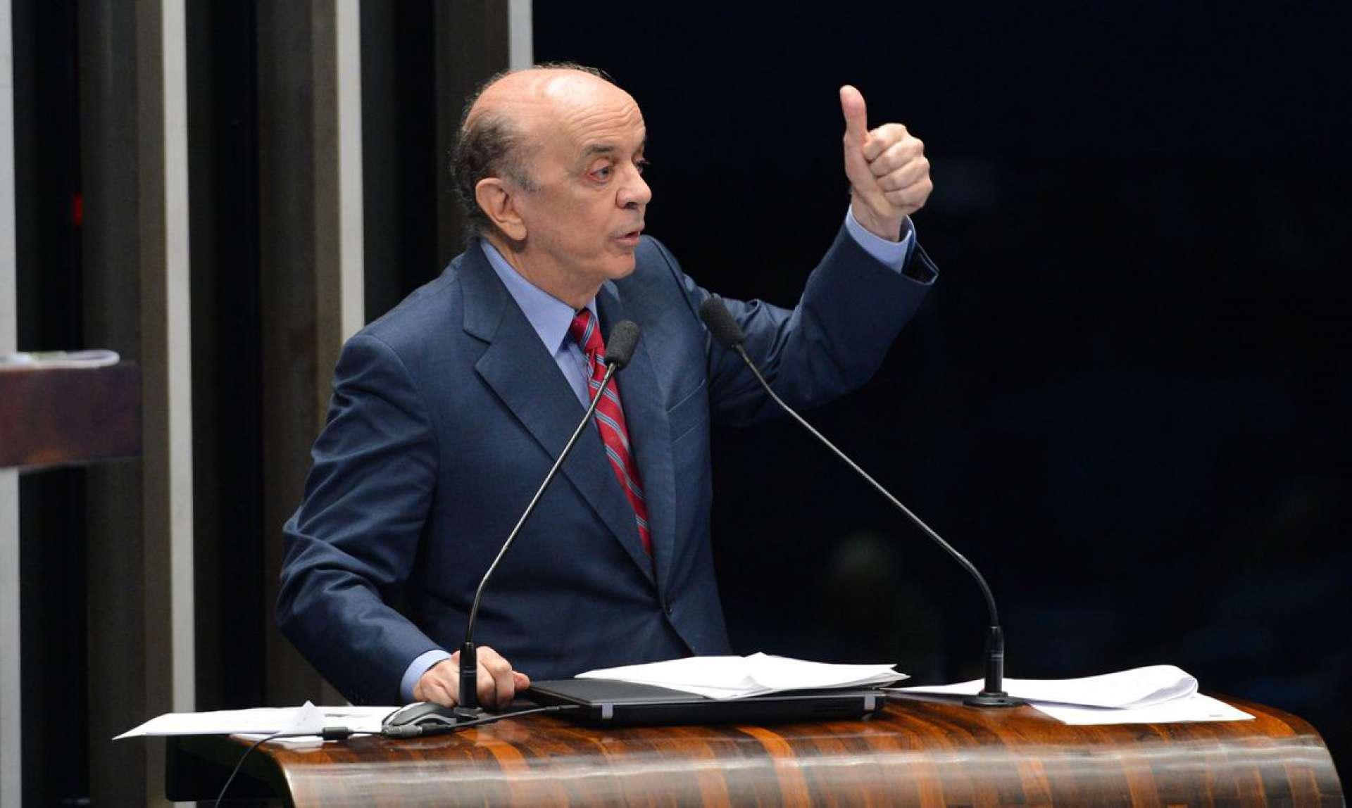 José Serra foi alvo de operação da Polícia Federal
