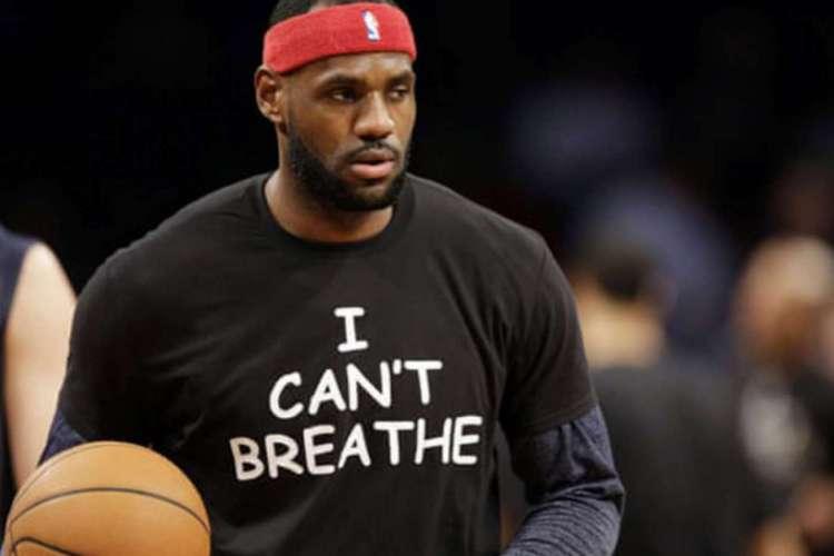 LeBron James, do Los Angeles Lakers, costuma se manifestar sobre causas sociais (Foto: AFP)