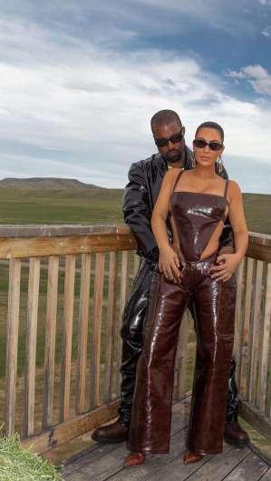 Kim Kardashian demonstrou apoio a candidatura do esposo nas redes sociais (Foto: Reprodução/Instagram)