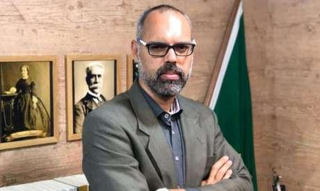 O blogueiro bolsonarista Allan dos Santos gerenciava o portal Terça Livre; site anunciou fim das atividades na sexta-feira, 22