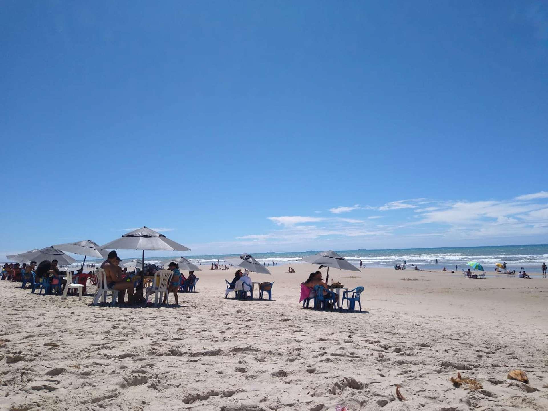Praia do Futuro neste domingo, 5