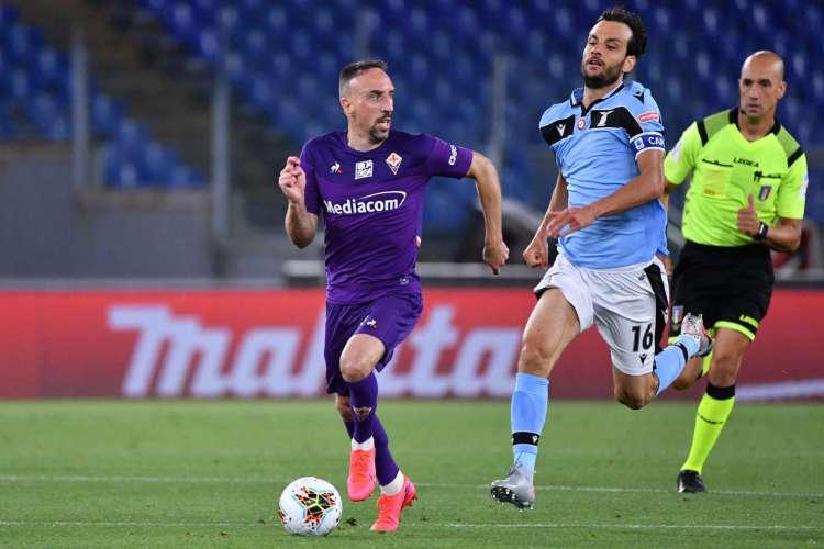 Franck Ribéry joga pela Fiorentina desde agosto do ano passado (Foto: AFP)