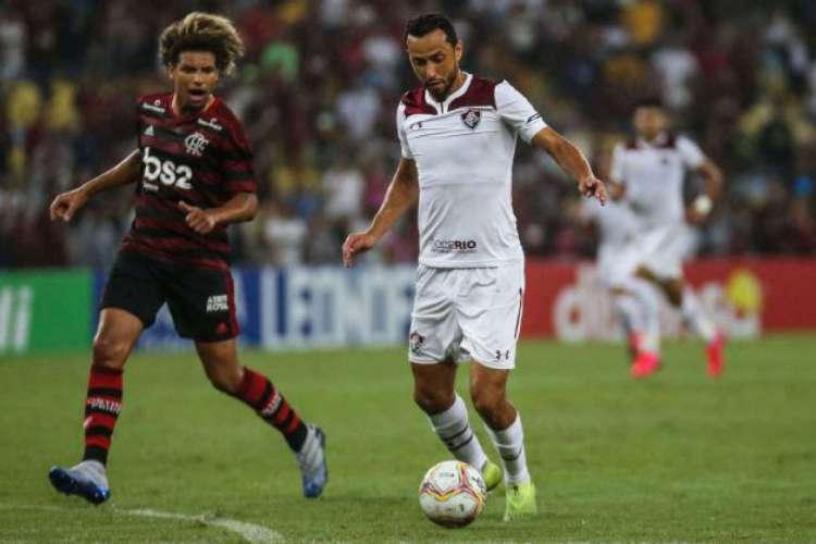 Fluminense e Flamengo vão se enfrentar no Maracanã na quarta, 8 de julho (08/07), pela final da Taça Rio, 2º turno do Carioca (Foto: LUCAS MERÇON/ FLUMINENSE F.C)