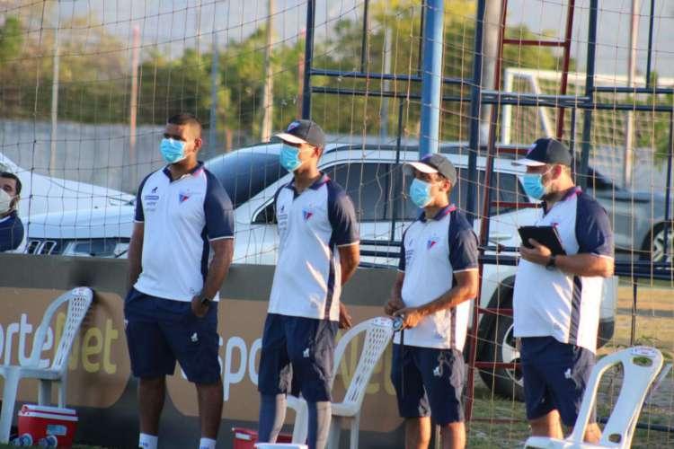 O preparador físico do Fortaleza avaliou como positiva a evolução da equipe no retorno aos treinos (Foto: Bruno Oliveira/Fortaleza EC)