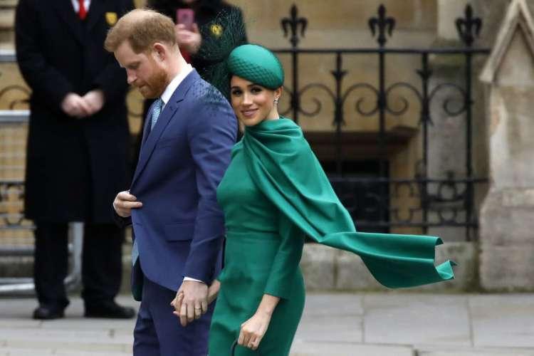 Príncipe Harry e Meghan Markle (Foto: Tolga AKMEN / AFP)