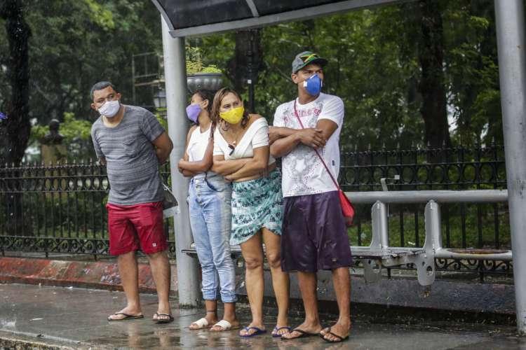 FORTALEZA, CE, BRASIL, 06.07.2020: Chuva em Fortaleza (Foto: Thais Mesquita)