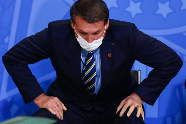 Perfis no Facebook ligados ao gabinete de Jair Bolsonaro foram afetados (Foto: Sergio LIMA / AFP)