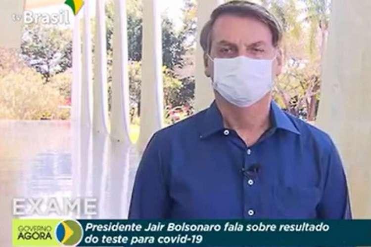 Bolsonaro anuncia que testou positivo para coronavírus nesta terça-feira, 7 (Foto: REPRODUÇÃO)
