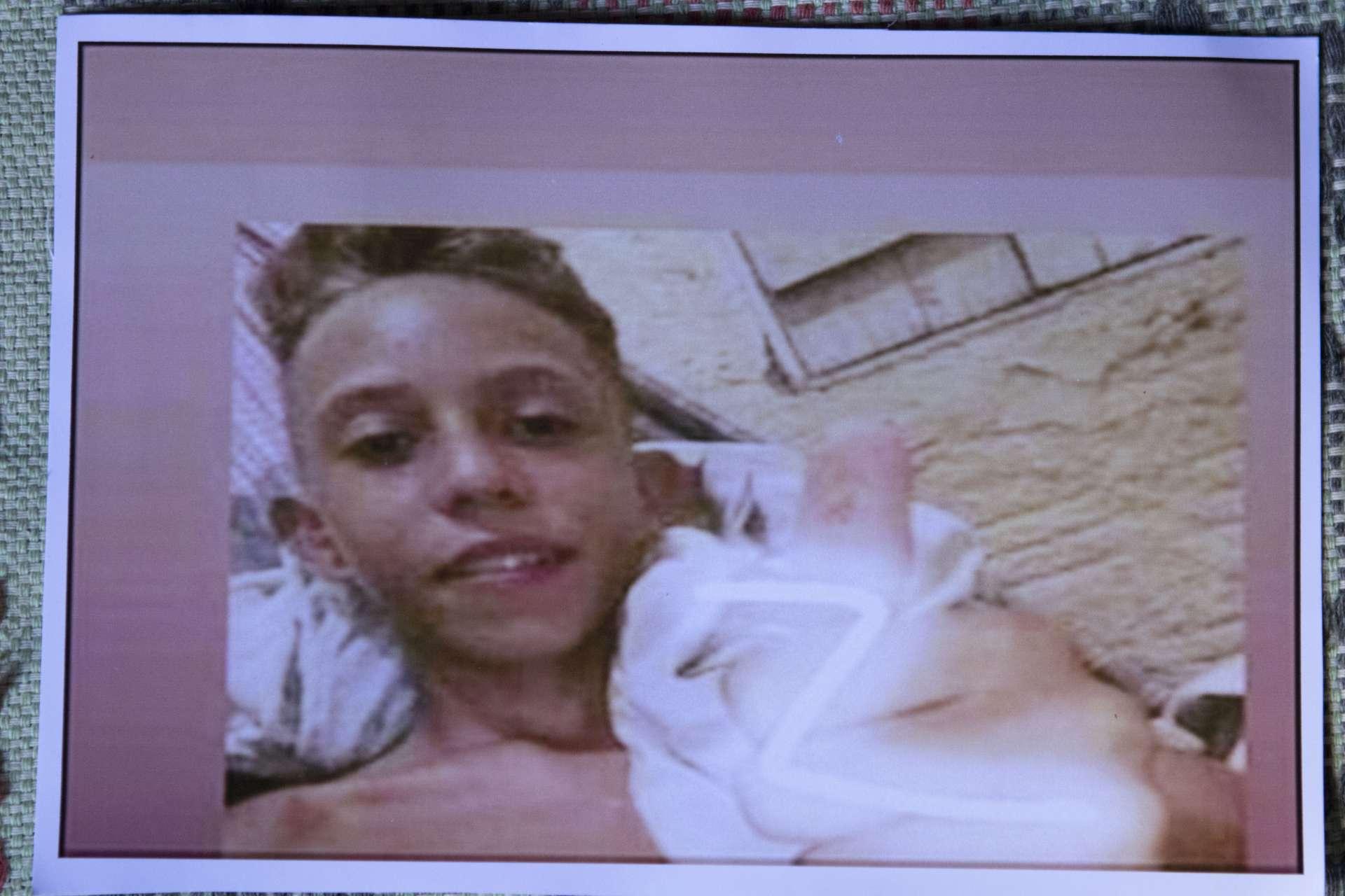 MIZAEL Fernandes, de 13 anos, foi assassinado enquanto dormia