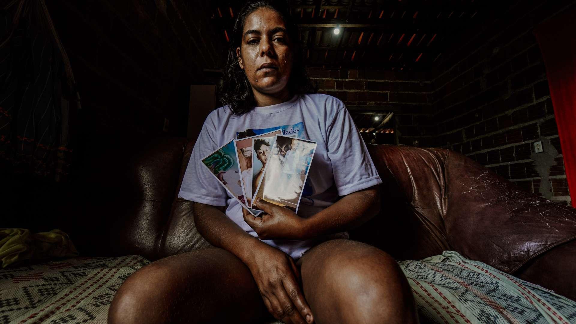 LIDIANE Rodrigues, mãe de Mizael Fernandes: família e testemunhas contestam conclusão do IPM