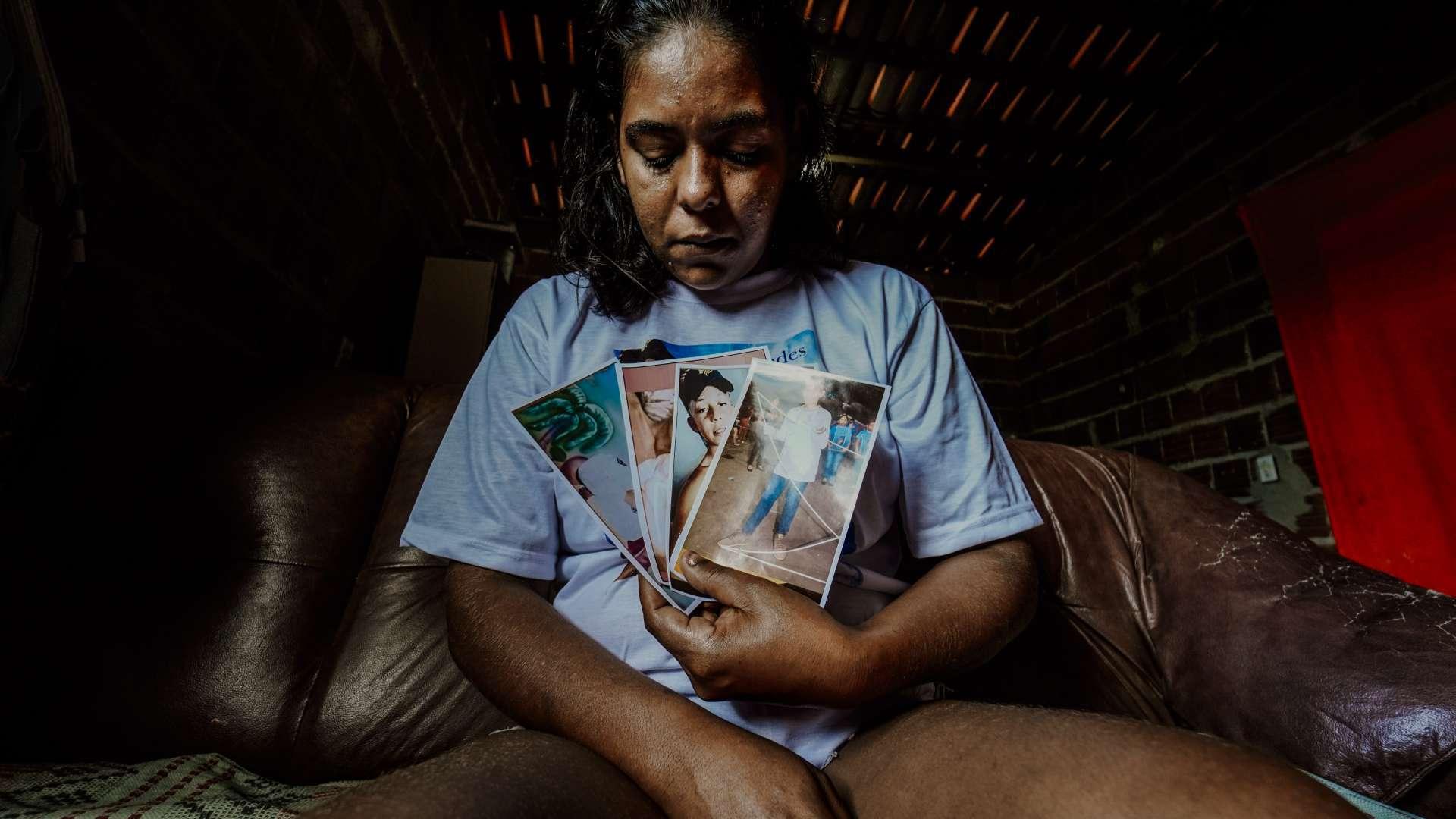 Lidiane Rodrigues da Silva, 33, mãe de Mizael Fernandes