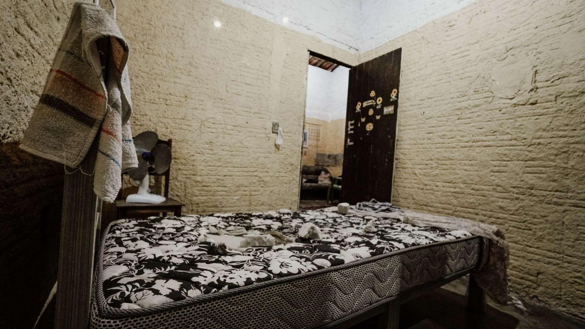 CAMA onde Mizael Fernandes, de 13 anos, dormia, quando foi morto por PM, em 1º de junho último