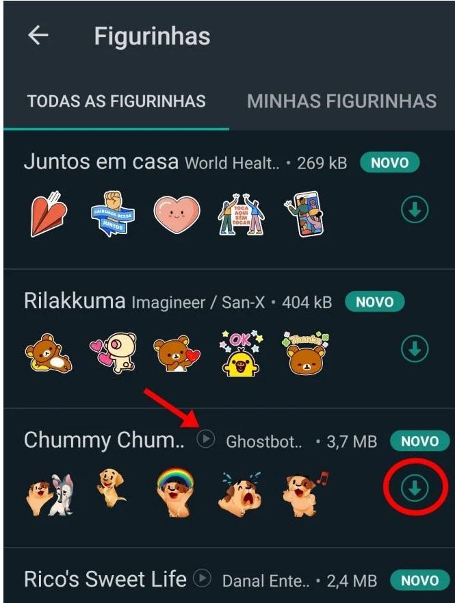 Passo a passo de como usar os stickers animados no WhatsApp