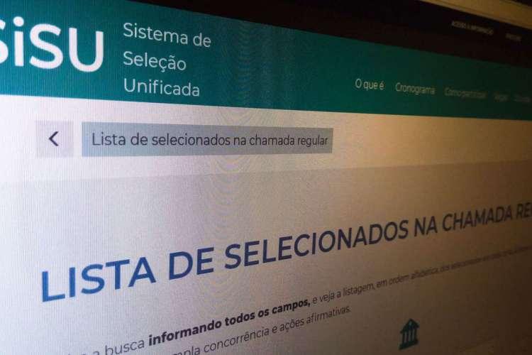 resultado do Sisu, educação. MEC (Foto: Agência Brasil)