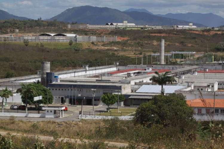 Em julho, 28 chefes de facções voltaram de presídios federais para o complexo penitenciário em Itaitinga (Foto: MAURI MELO)