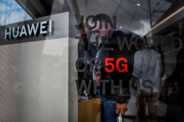 Empresa chinesa é líder na tecnologia 5G (Foto: AFP)