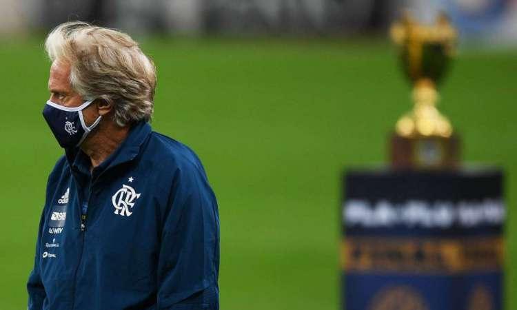 A partida desta quarta pode ter marcado a despedida do técnico Jorge Jesus do Flamengo
