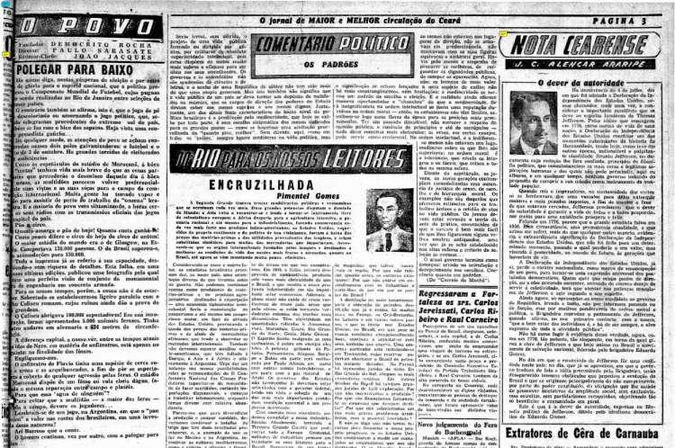 Edição de 4 de julho de 1950