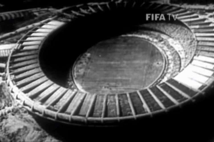 Estádio do Maracanã, no Rio de Janeiro, em 1950(Foto: Reprodução / Youtube / TV Fifa)