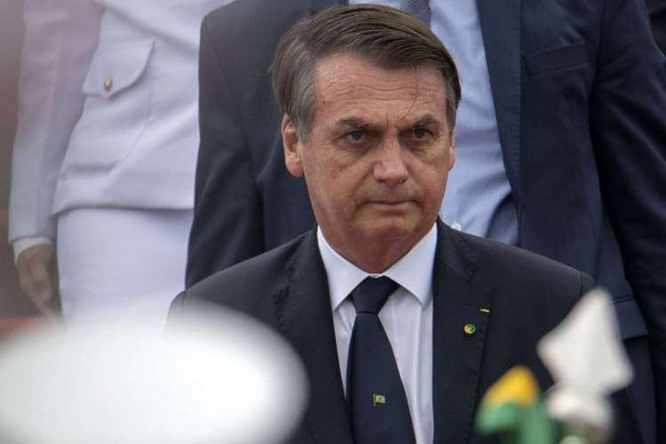 O presidente chegou a ser contaminado pela doença, no dia 7 de julho. (Foto: Mauro Pimentel / AFP)