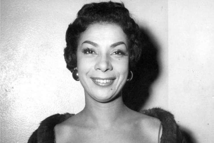 Elizeth Cardoso foi um dos principais nomes da música brasileira (Foto: Arquivo Nacional)