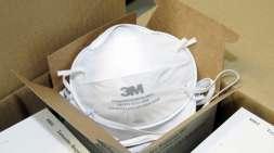 Em junho, chegaram 10 mil máscaras PFF2 para o hospital universitário