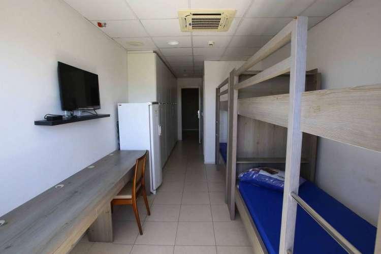Novo centro de acolhimento a pacientes de Covid-19 no CFO (Foto: Divulgação)