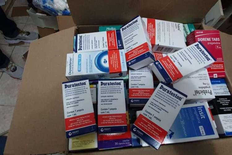 Medicamento vendido sem receita foi apreendido em Reriutaba e Pires Ferreira (Foto: Asscom/SSPDS)