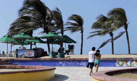 As mudanças das orientações do vento são comuns no Estado durante o segundo semestre