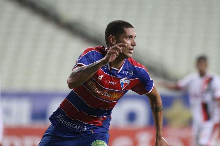 Tiago Orobó não pode jogar pelo Fortaleza na Copa do Brasil (Foto: PEDRO CHAVES / FCF)