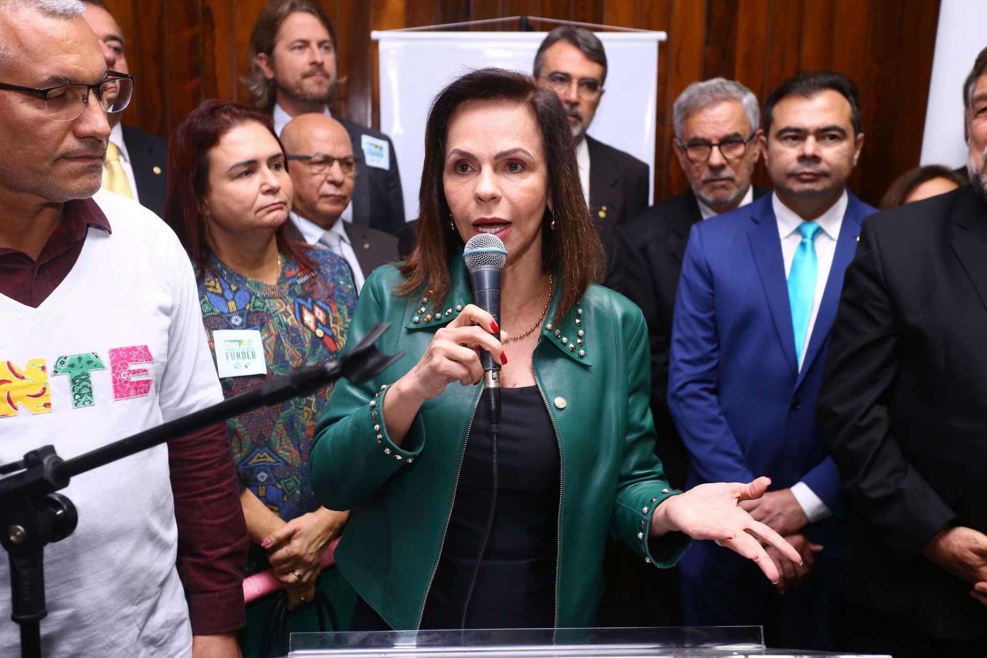 Professora Dorinha, do DEM de Tocantins, relatora do PEC na Câmara