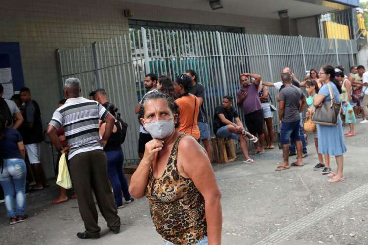 Taxa de contágio do coronavírus no Brasil fica acima do índice 1 pela 13ª semana aponta levantamento  (Foto: Arquivo)