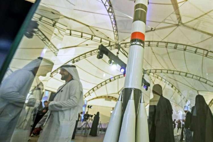 Foi lançada Esperança', a primeira sonda árabe com destino a Marte (Foto: AFP)