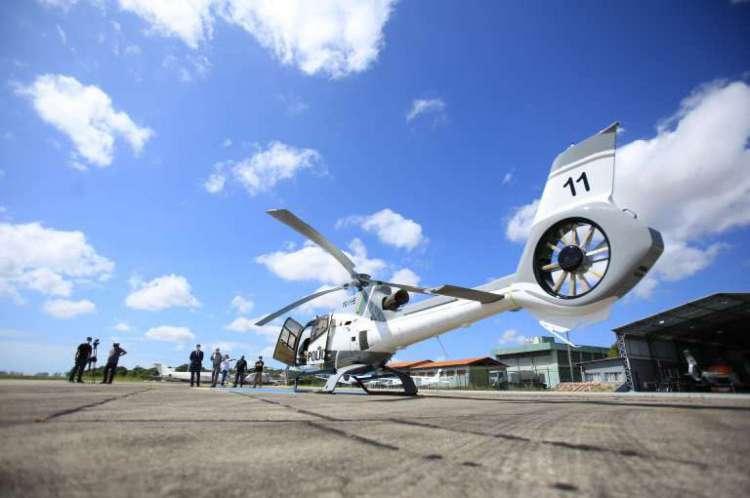 O início oficial dos trabalhadores da aeronave, batizada de Fênix 11, ocorreu na manhã desta terça-feira na base da Ciopaer, no Aeroporto de Fortaleza