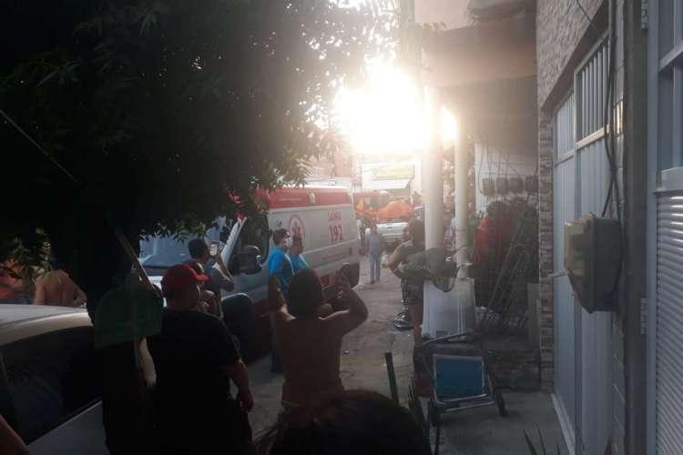 Acidente ocorreu por volta das 17h15min desta terça-feira, 21 (Foto: Iara Costa/Especial para O POVO)