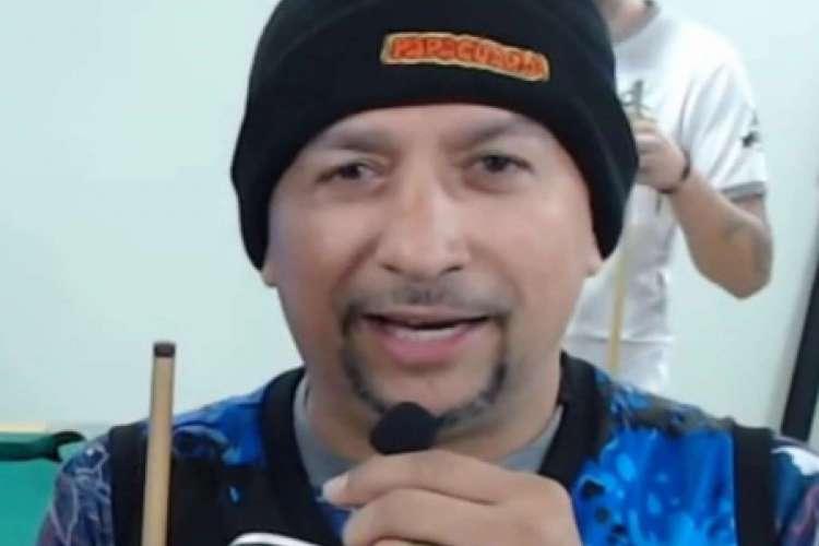 Baianinho de Mauá, campeão da 1ª Copa Mundo da Sinuca (Foto: Reprodução/Youtube)