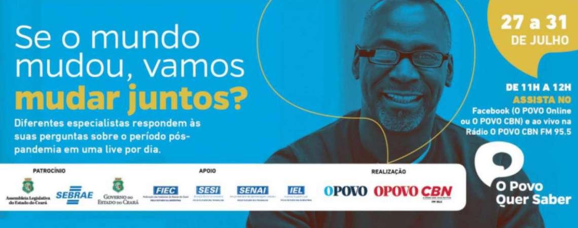 O POVO Quer Saber terminar nesta sexta-feira debatendo sobre eleições municipais (Foto: Banner)