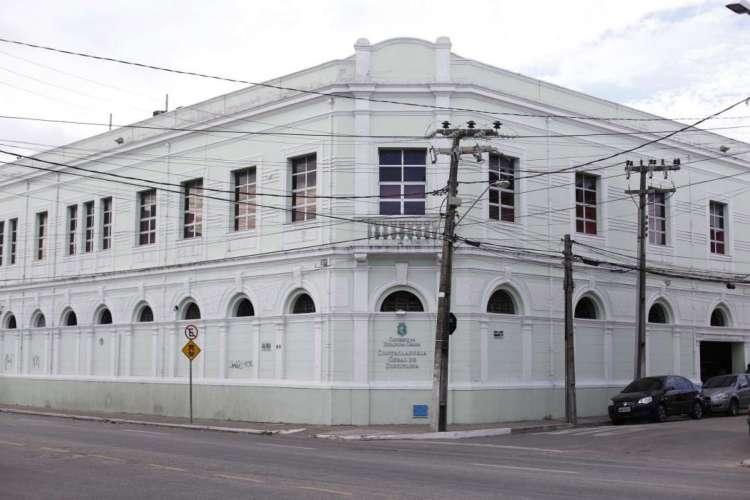 Fachada da CGD, no Centro de Fortaleza (Foto: Fabio Lima)