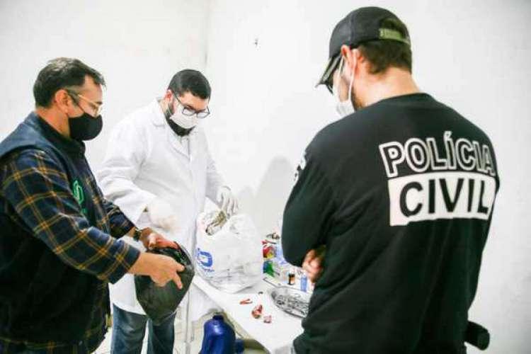 A Polícia Civil ainda investiga se substâncias perigosas ou nocivas à saúde humana eram manipuladas no espaço (Foto: Divulgação/CRMV-CE)