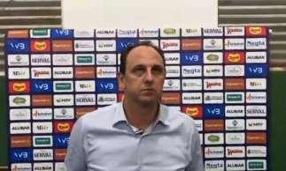 Rogério Ceni, treinador do Fortaleza