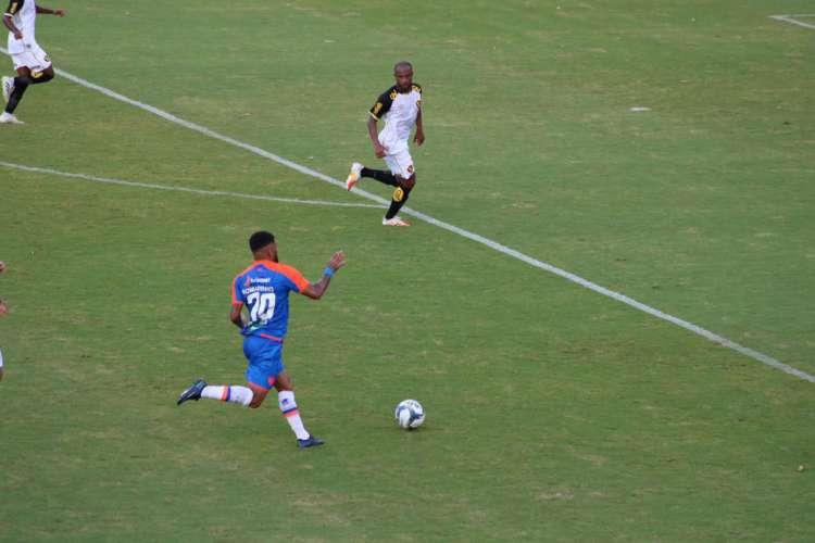 Ataque do Fortaleza passou dois jogos seguidos sem marcar pela primeira vez em 2020 (Foto: Bruno Oliveira / FortalezaEC)