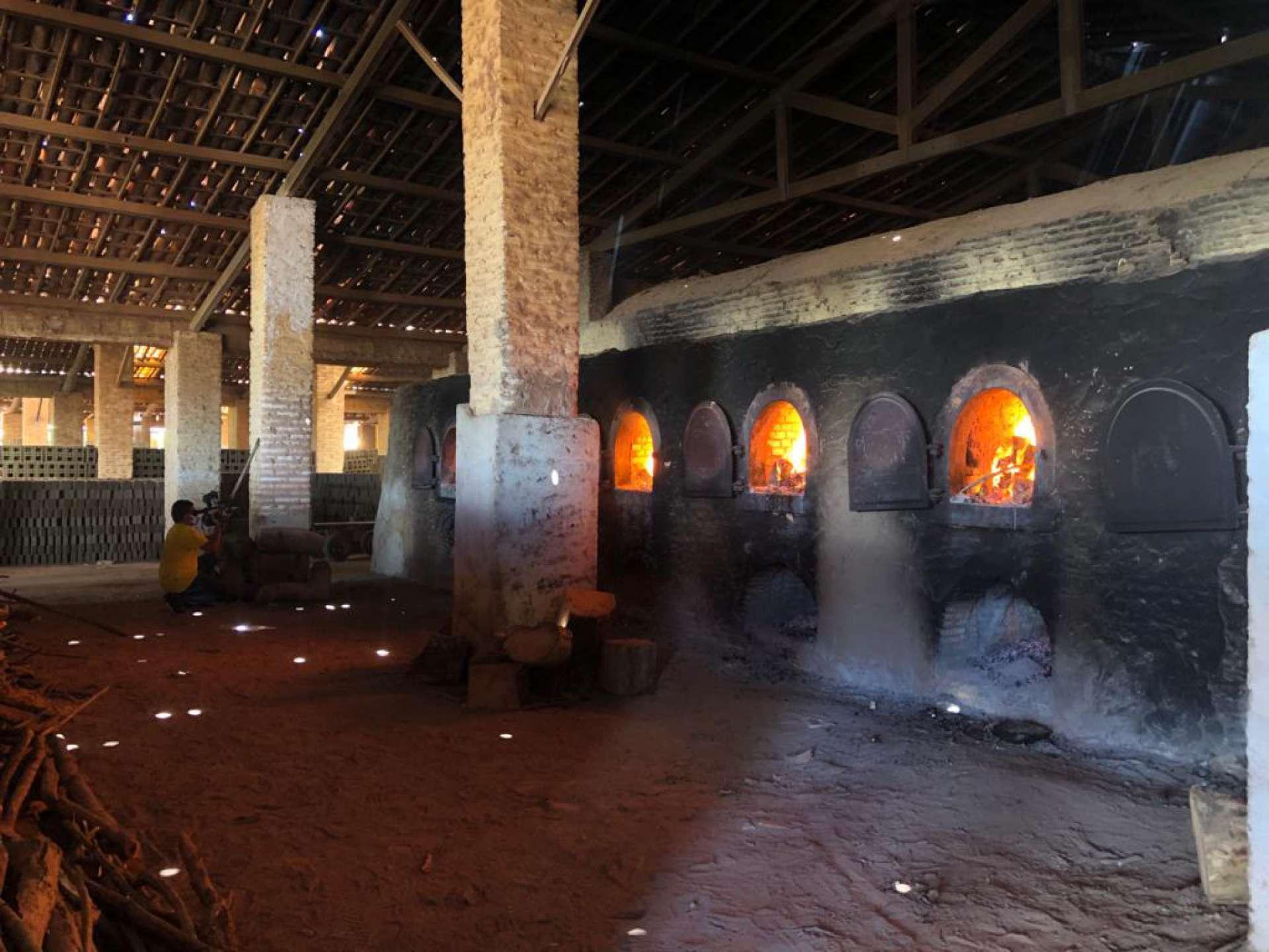 A carga foi incinerada em uma cerâmica em Aquiraz